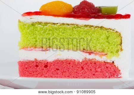Delicious Slice Of Cake