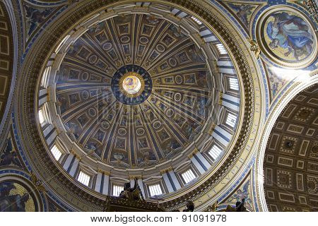 The Cupola Of The St. Peter's Basilica