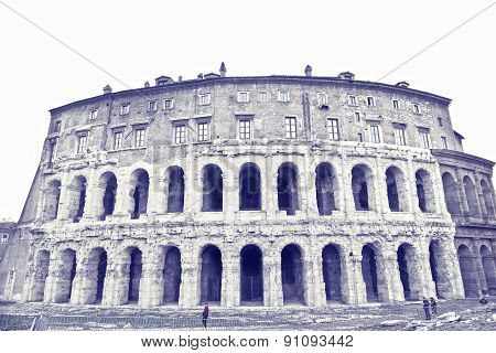 Theatre Of Marcellus. Rome. Italy