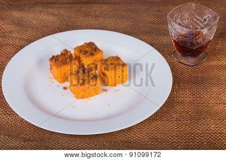 carrot dessert.