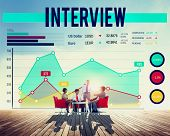 pic of interview  - Interview Agreement Human Resources Interviewer Concept - JPG
