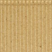 stock photo of recycled paper  - Corrugated cardboard goffer paper texture - JPG