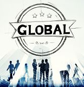 pic of globalization  - Global Globalization Community Communication Concept - JPG
