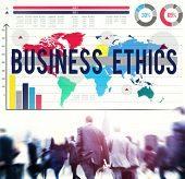 foto of moral  - Business Ethics Moral Responsibility Business Concept - JPG