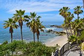 stock photo of southern  - Laguna Beach during the Summertime in Southern California - JPG