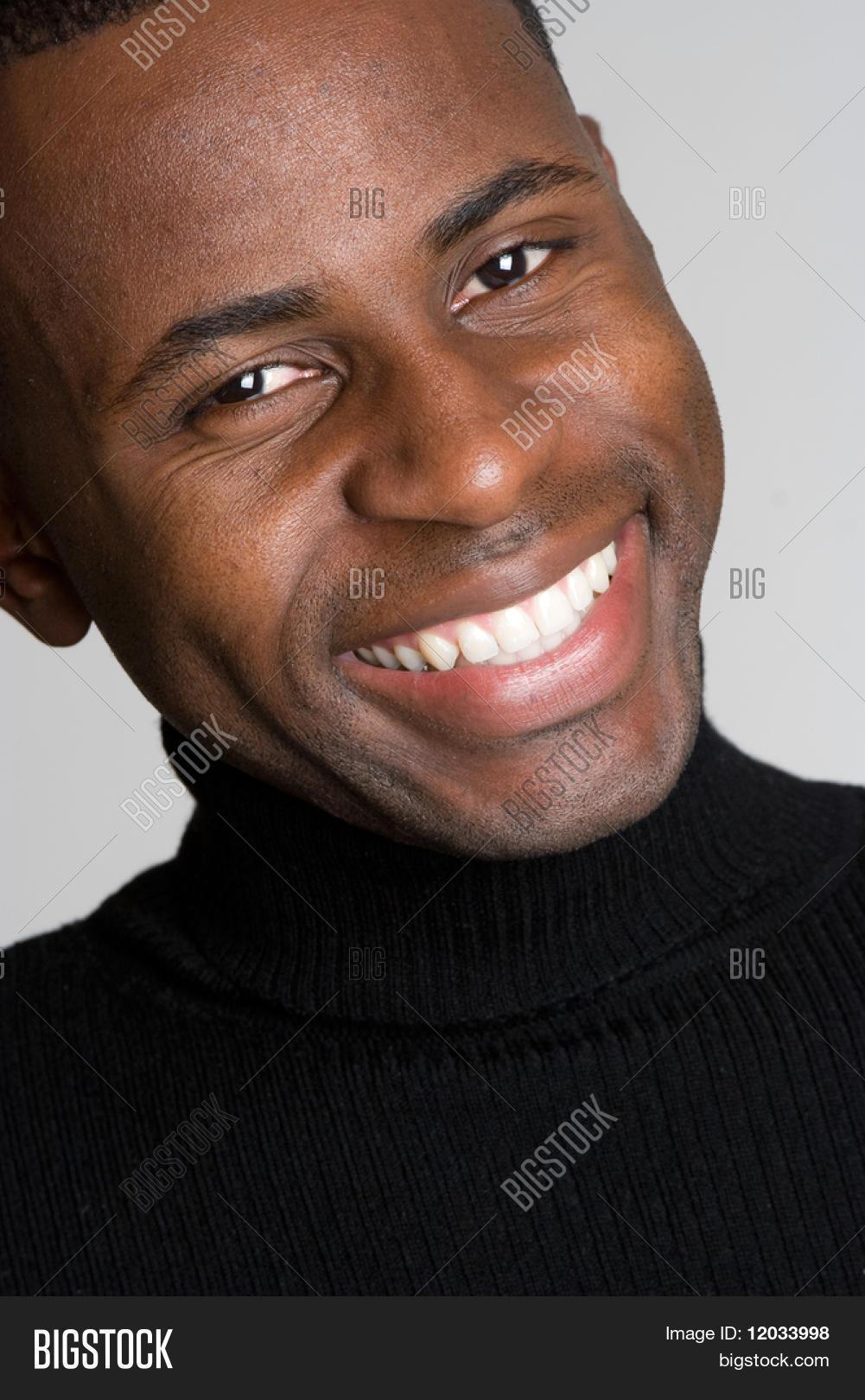 Smiling Black Man Image & Photo | Bigstock