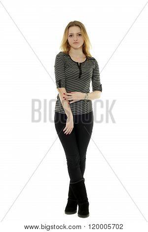 Casual Teenage Girl