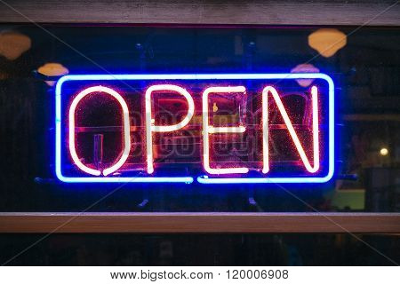 Neon Sign Open Signage Light Bar Restaurant Shop Business Decoration