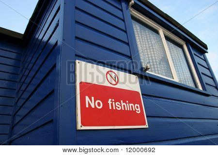 Sign, No Fishing
