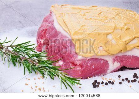 Salt Roast, Pork Roast, Preparation