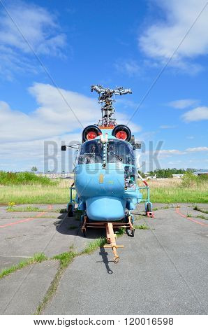 The Kamov Ka-27 Ps Helicopter Of Aviation Of The Russian Fsb Border Troops In Pulkovo Airport