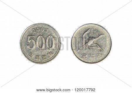 South Korean Won Coins