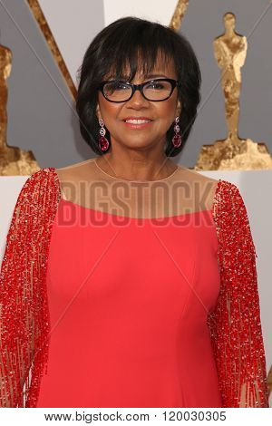 LOS ANGELES - FEB 28:  Cheryl Boone Isaacs at the 88th Annual Academy Awards - Arrivals at the Dolby Theater on February 28, 2016 in Los Angeles, CA