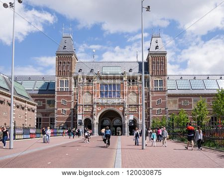 View of Rijksmuseum, Amsterdam