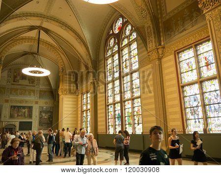 Main hall of Rijksmuseum, Amsterdam