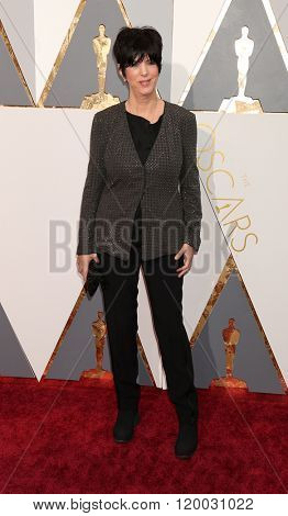 LOS ANGELES - FEB 28:  Diane Warren at the 88th Annual Academy Awards - Arrivals at the Dolby Theater on February 28, 2016 in Los Angeles, CA
