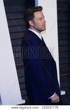 BEVERLY HILLS - FEB 28: Ben Affleck at the 2016 Vanity Fair Oscar Party on February 28, 2016 in Beverly Hills, California