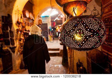 Lantern Shop Marrakech Souk