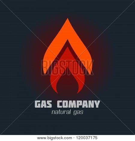 Gas Supply Service Sign Set