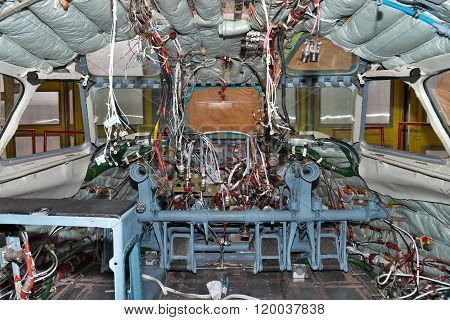 Aircraft Being Maintenanced