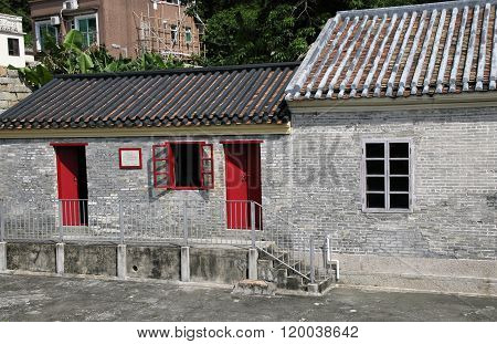 traditional village in Hong Kong
