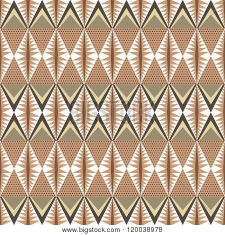 Elegant Seamless Pattern In Folk Style