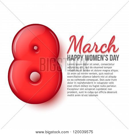International Womens Day. March 8