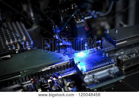 Machine For Production Of Light-emitting Diodes (led)..