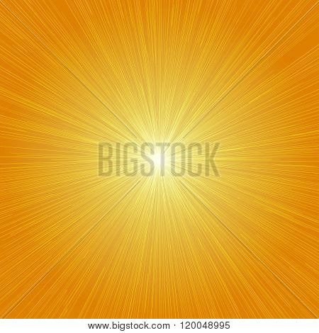 Radial Speed Lines Graphic Effects Background Orange 01