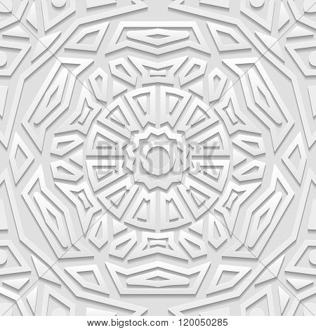 Seamless arabic geometric pattern indian ornament persian motif vector. Endless texture can be used