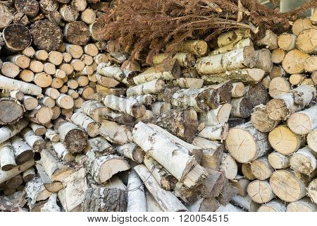 Small Pieces Of Fireplace Wood