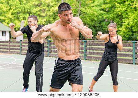Tae Bo Training