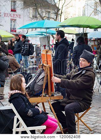 Montmartre Painters, Paris