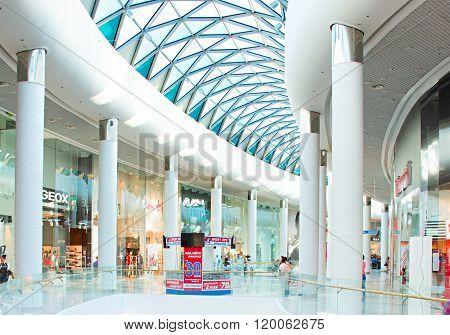 Ocean Plaza Shopping Mall Interior