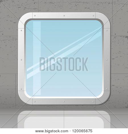 Futuristic Large Window