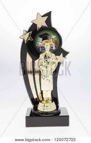 Male Graduation Trophy