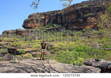 Nourlangie rock  in kakadu national park, nt australia