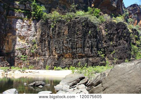 Jim Jim Falls, Kakadu National Park, Northern Territory, Australia