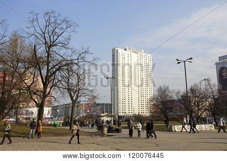 Novotel Hotel, Warsaw, Poland