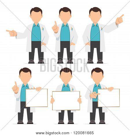 Character It Specialist, Scientist, Doctor, Engineer