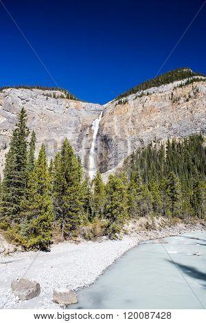 Takakkaw Falls, Yoho National Park, Alberta, Kanada
