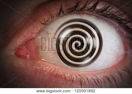 Hypnosis Swirl Eyeball