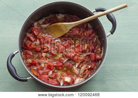 Tomato Sauce Pot
