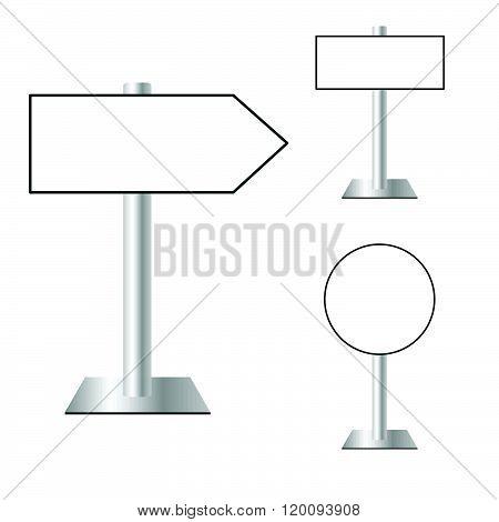 Signboard Set Illustration