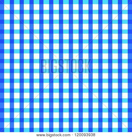 Tablecloth Blue Illustration