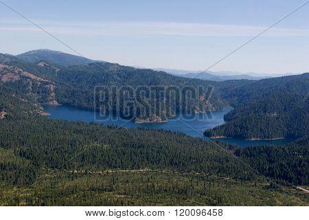 Bead Lake, Aerial