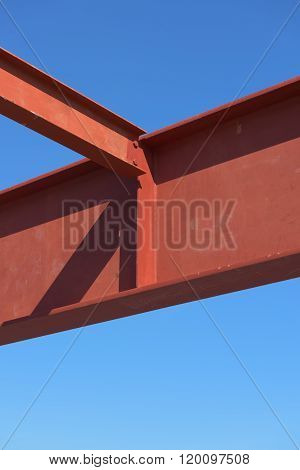 Steel Structure Erection, Beam Girder.