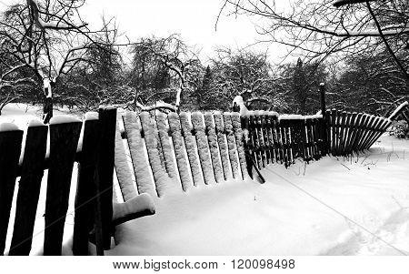 shaky fence