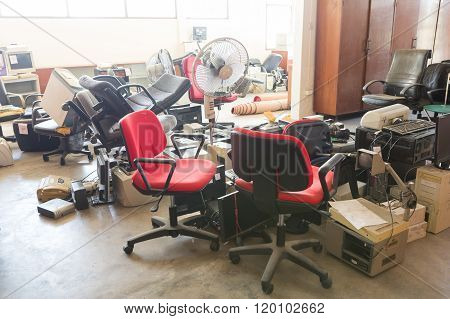 Abadoned Office Equipments