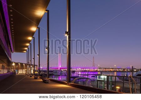 Bolte Bridge, Melbourne At Dawn